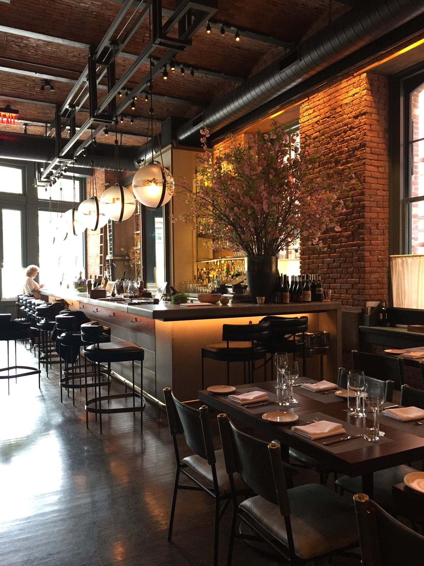 Chefs Club by Food & Wine NY Cafe concept, Cafe design