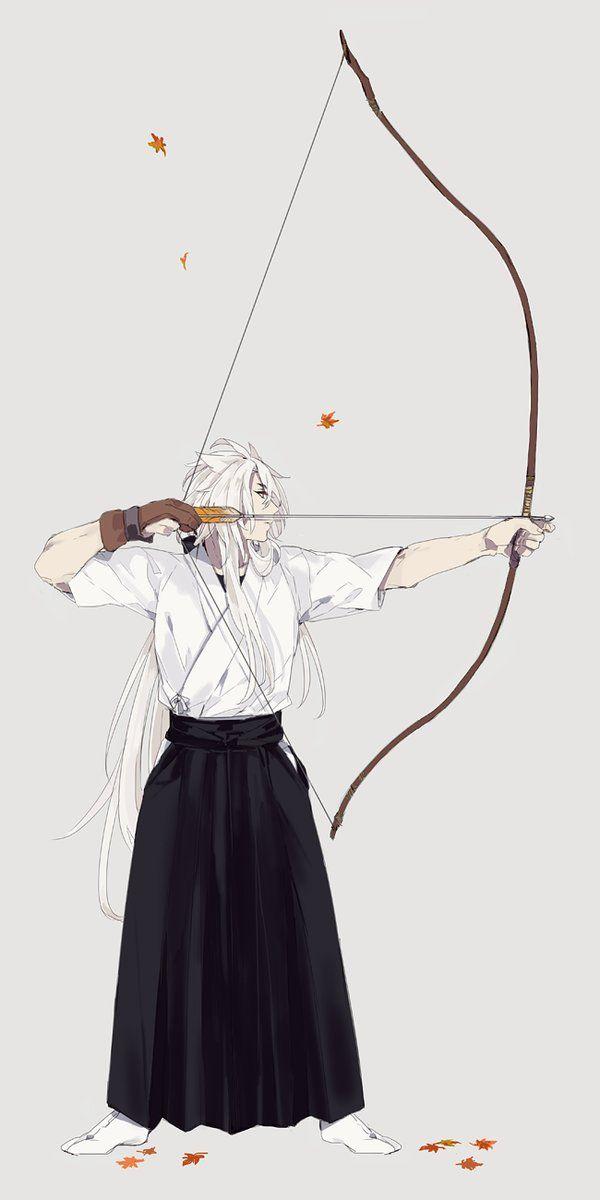 刀剣乱舞弓道と小狐丸とある審神者 Touken Ranbu 刀剣 乱舞