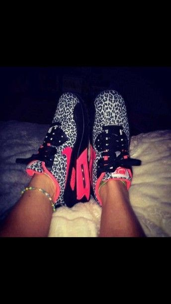 the best attitude 578a6 f60a4 shoes nike nike air nike sneakers air max nike air max 90 leopard print  neon pink black white