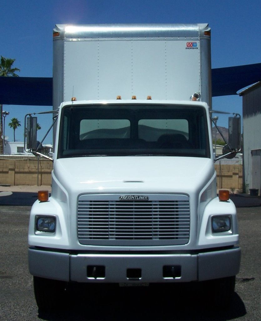 1996 Freightliner Fl70 Box Truck A Hard To Find Low Mileage Non Cdl Box Truck Large Cummins 8 3 Liter Diesel Motor Freightliner Trucks Trucks For Sale