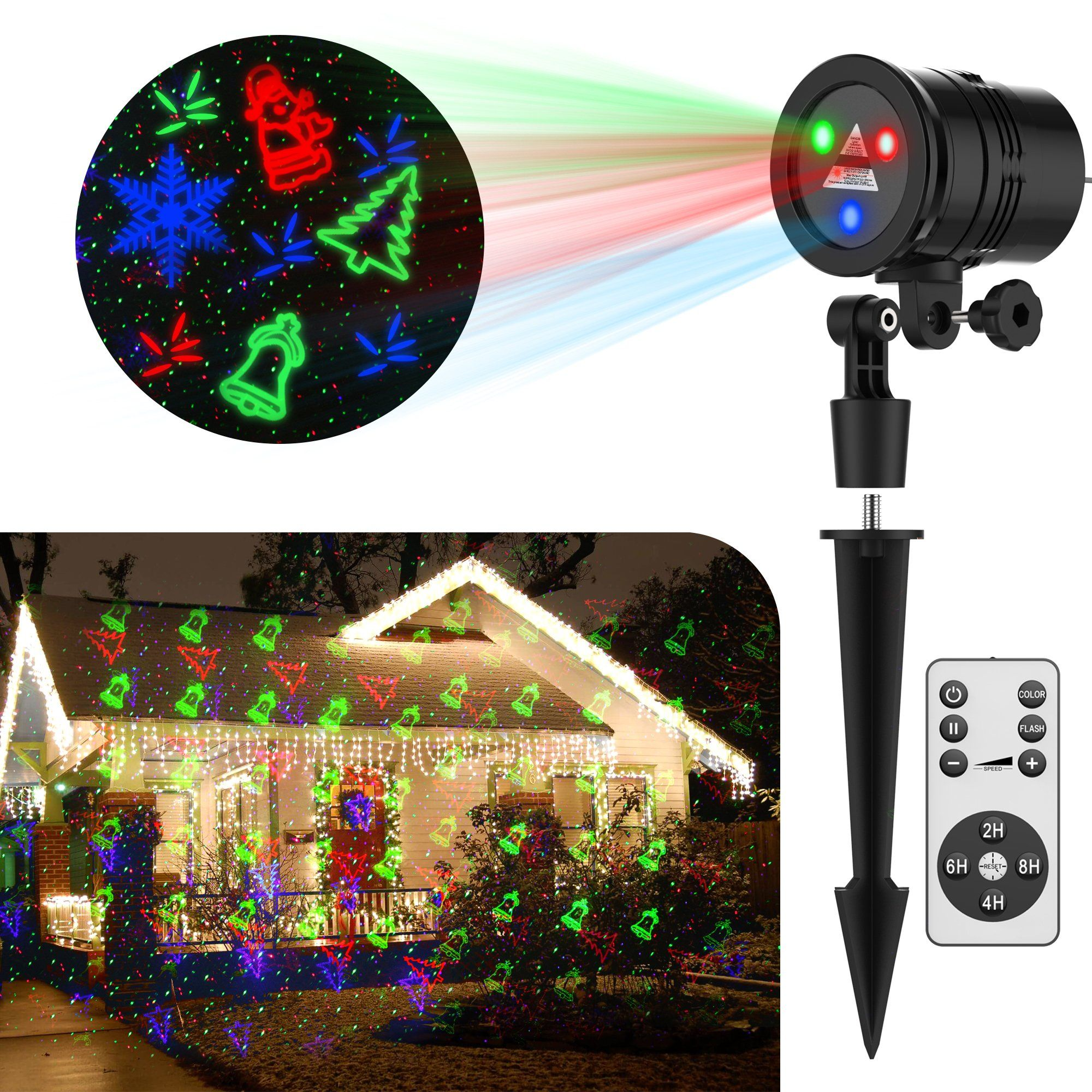 Frightening Halloween Decorations GameWill Laser