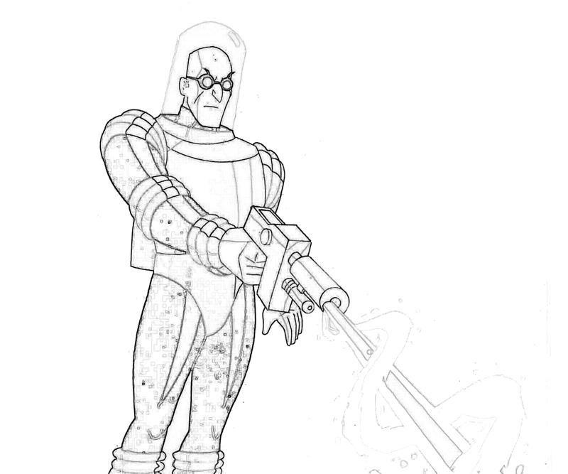 mr freeze coloring pages - google search | batman art | pinterest ... - Batman Arkham City Coloring Pages