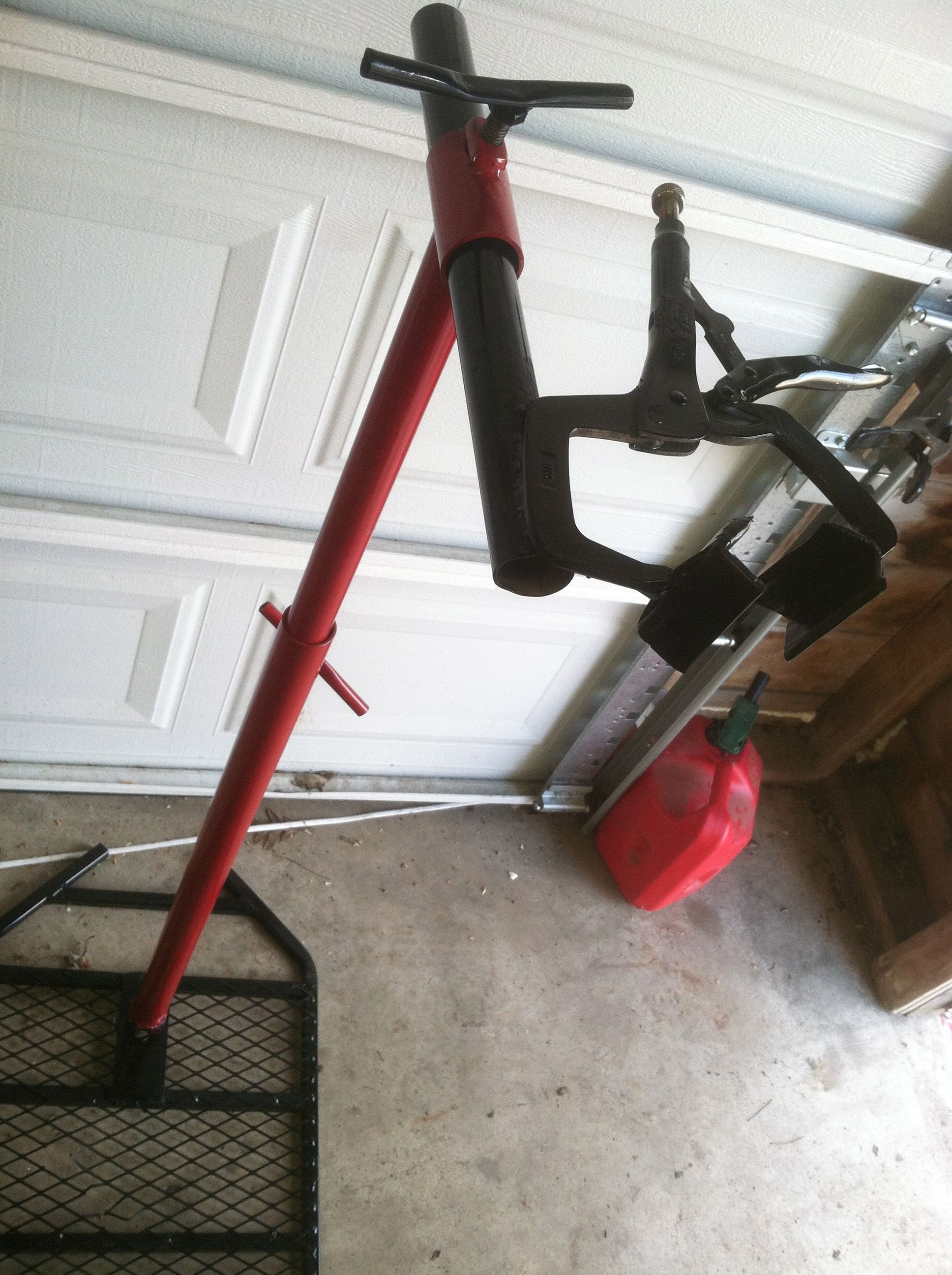 Diy Bicycle Repair Stand Clamp DIY Bike Repair Stand Clamp