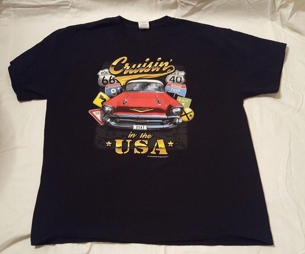 Chevrolet Mens Auto Short Sleeve Graphic T-Shirt