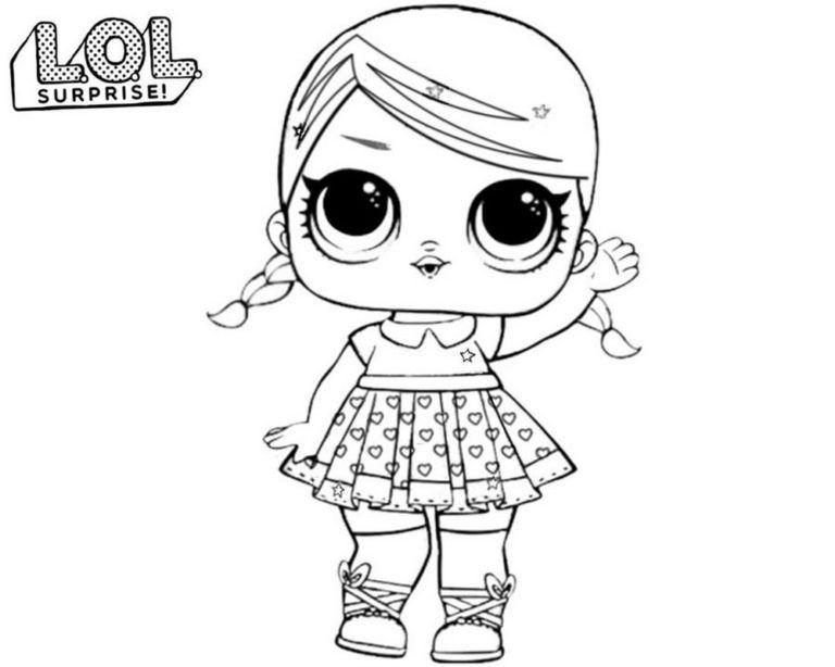 Раскраски куклы ЛОЛ Сюрприз. Распечатайте бесплатно все ...
