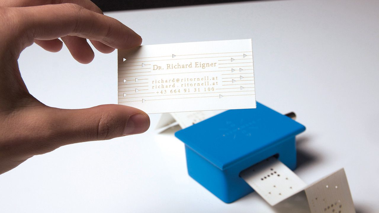 Make Your Name Into A Jingle With Music Box Business Cards