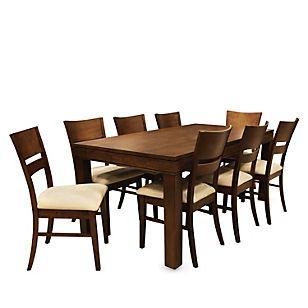 Basement home juego de comedor mecca 8 sillas muebles for Wayfair comedores