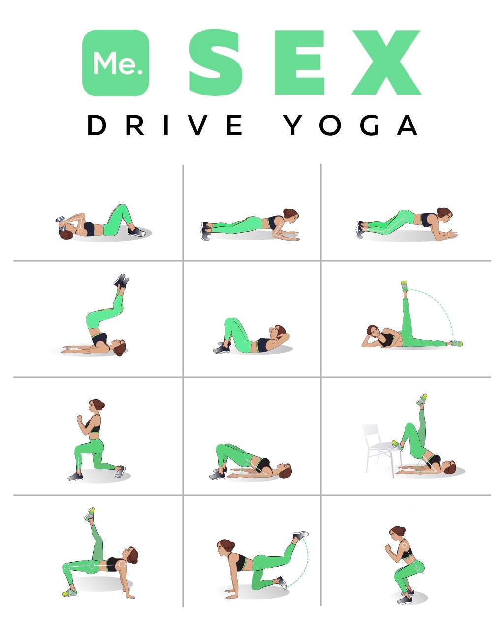 Yoga Poses to Tighten Your Private Part #yogaypilates