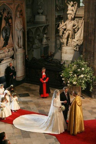 Westminster Abbey London England During The Wedding Of William And Kate