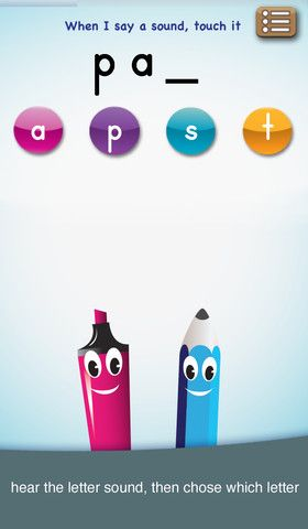 App Recommendation (ages 3-6) abc PocketPhonics letter sounds and - recoommendation letter guide