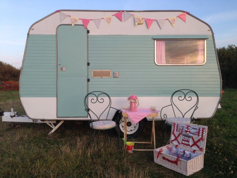 Best Shabby Chic Caravan Ideas On Pinterest Shabby Chic - Old shabby trailer gets one hell makeover