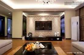 simple living room with tv architectural design