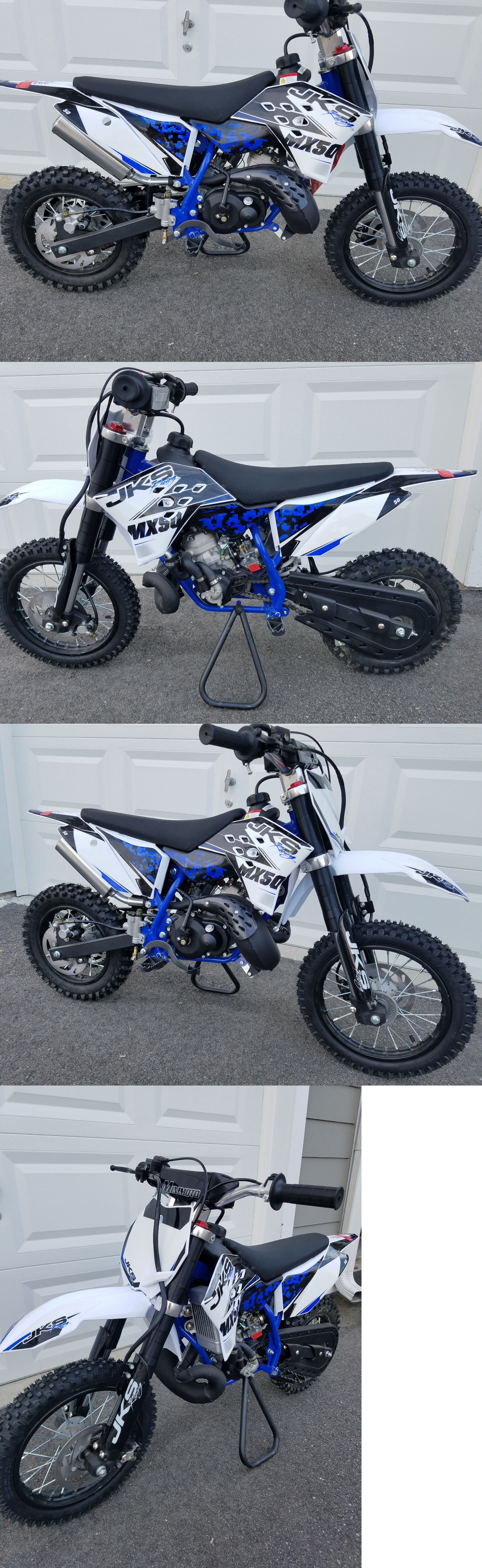 Other Scooters 11329 49cc 50cc Dirt Bike Jks Racing Mx 50 Nitro