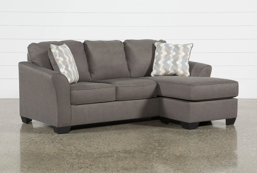 Tucker Sofa With Reversible Chaise In 2020 Couch With Chaise
