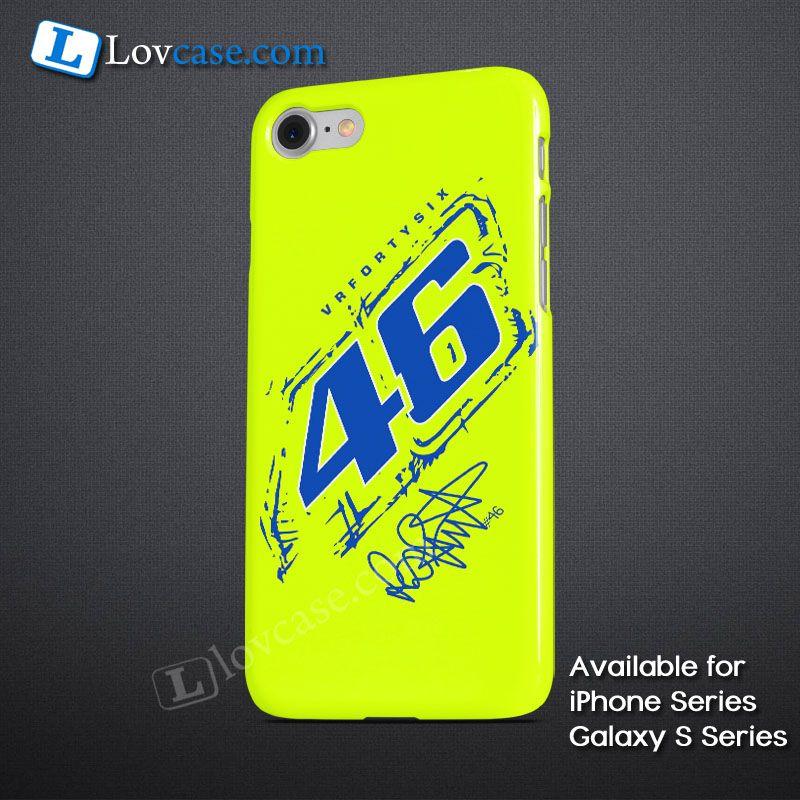 Valentino Rossi VRFORTYSIX 46 Logo Phone Case Apple iPhone Series ...