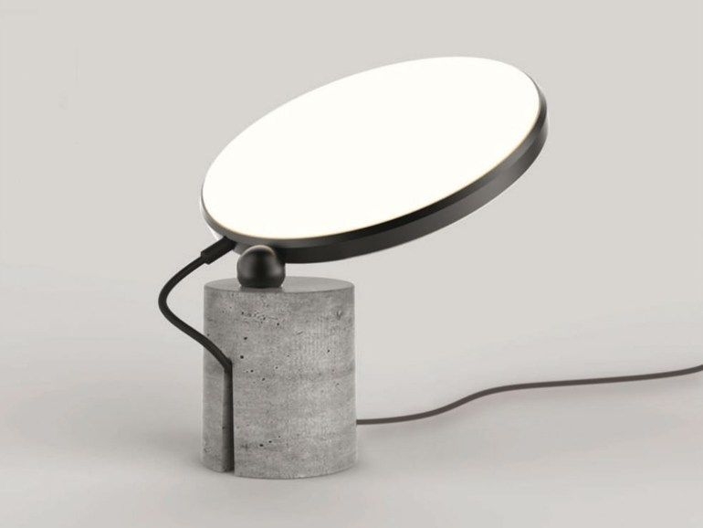Cement Table Lamp Floor Avveni, Floor Lamp Concrete Base Repair