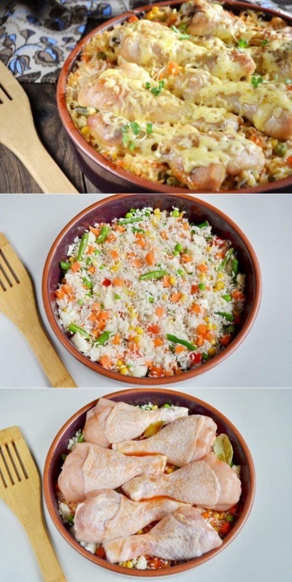Диетическая еда с рисом