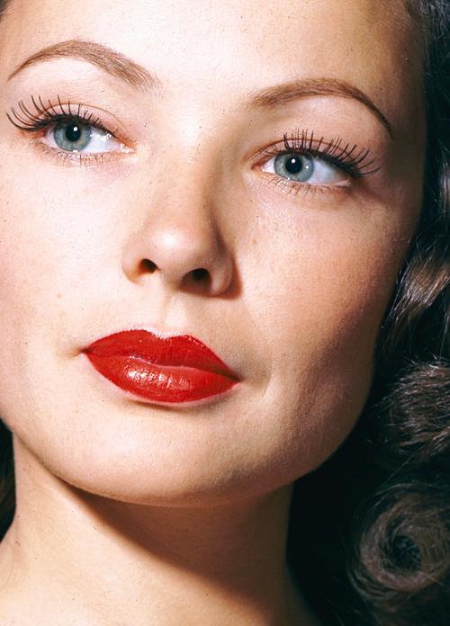 Gene Tierney Gene Tierney Classic Beauty Old Hollywood