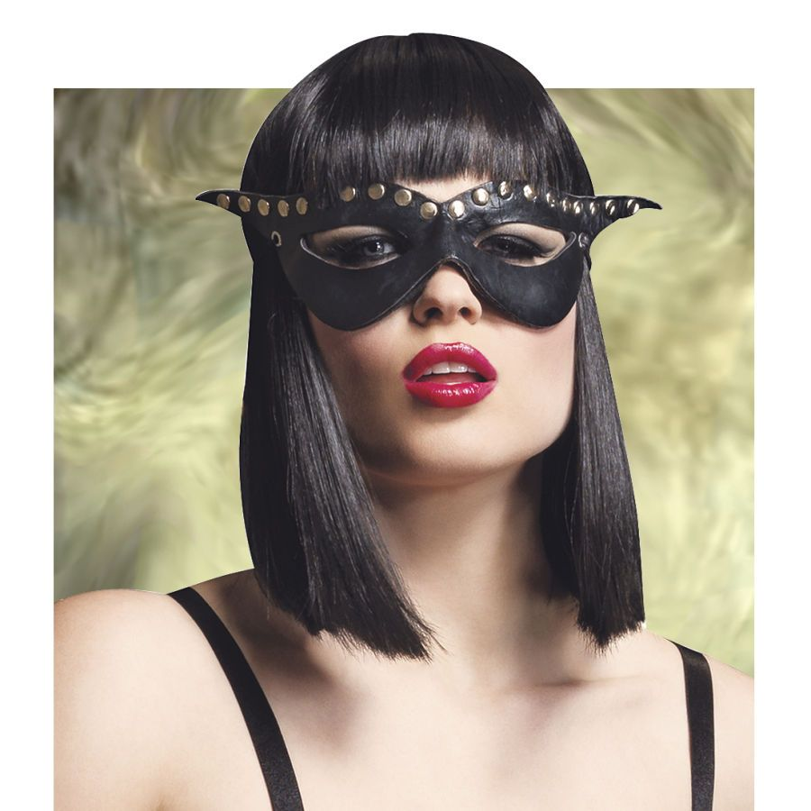 Bad Girl Studded Mask Costume Accessory
