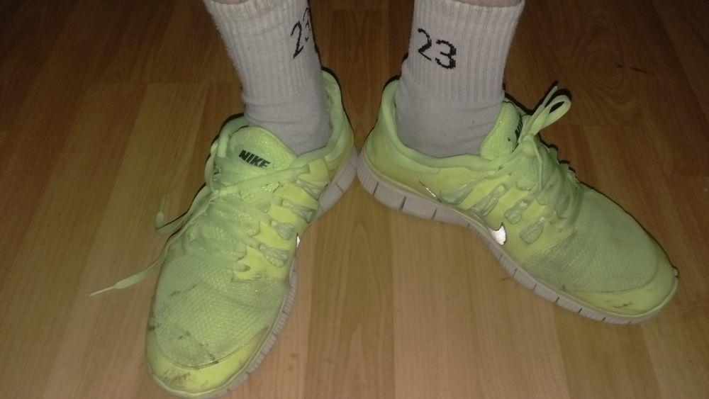 Nike Free 5.0+ Sneaker Schuhe gelb . gay Sk8er Skater