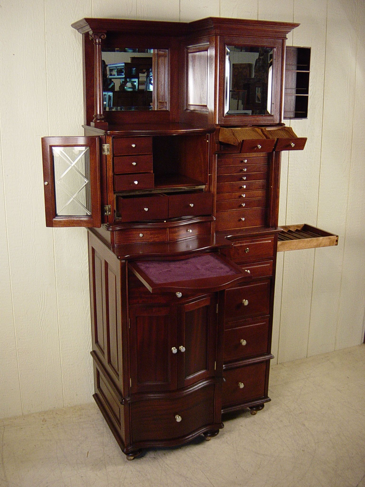 Antique Mahogany Ransom U0026 Randolph Co.