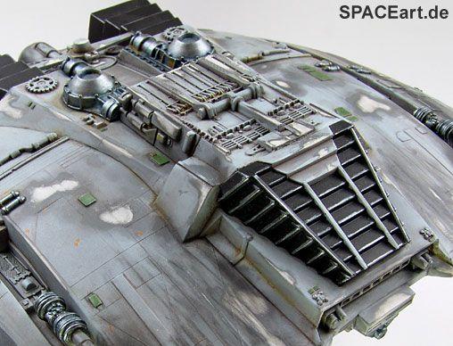 Battlestar Galactica: Cylon Raider, Modell-Bausatz ... http://spaceart.de/produkte/bg004.php