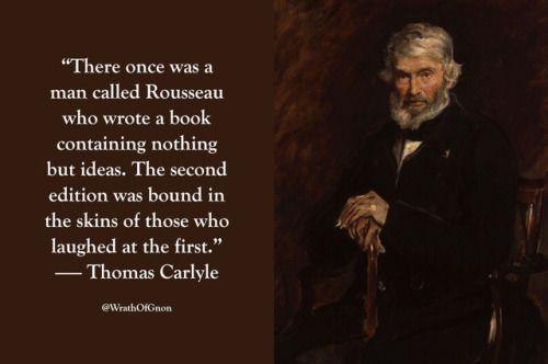 Wrathofgnon Writing A Book Thomas Carlyle Wrath