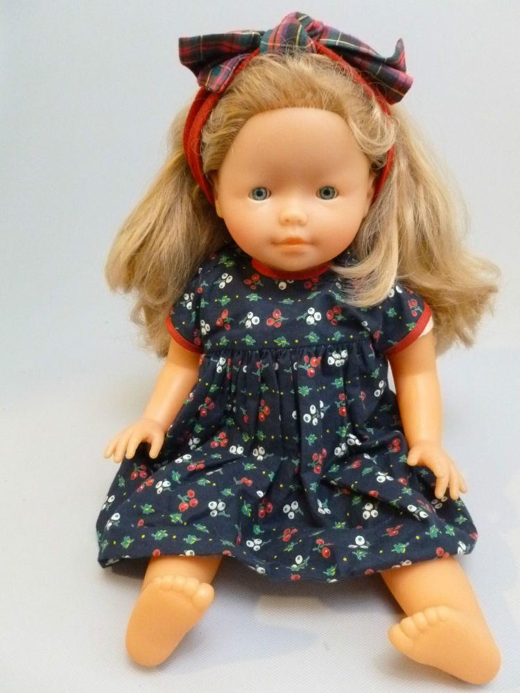 doll hair styling corolle baby 94e8 doll 17 inches thick shiny hair 1994