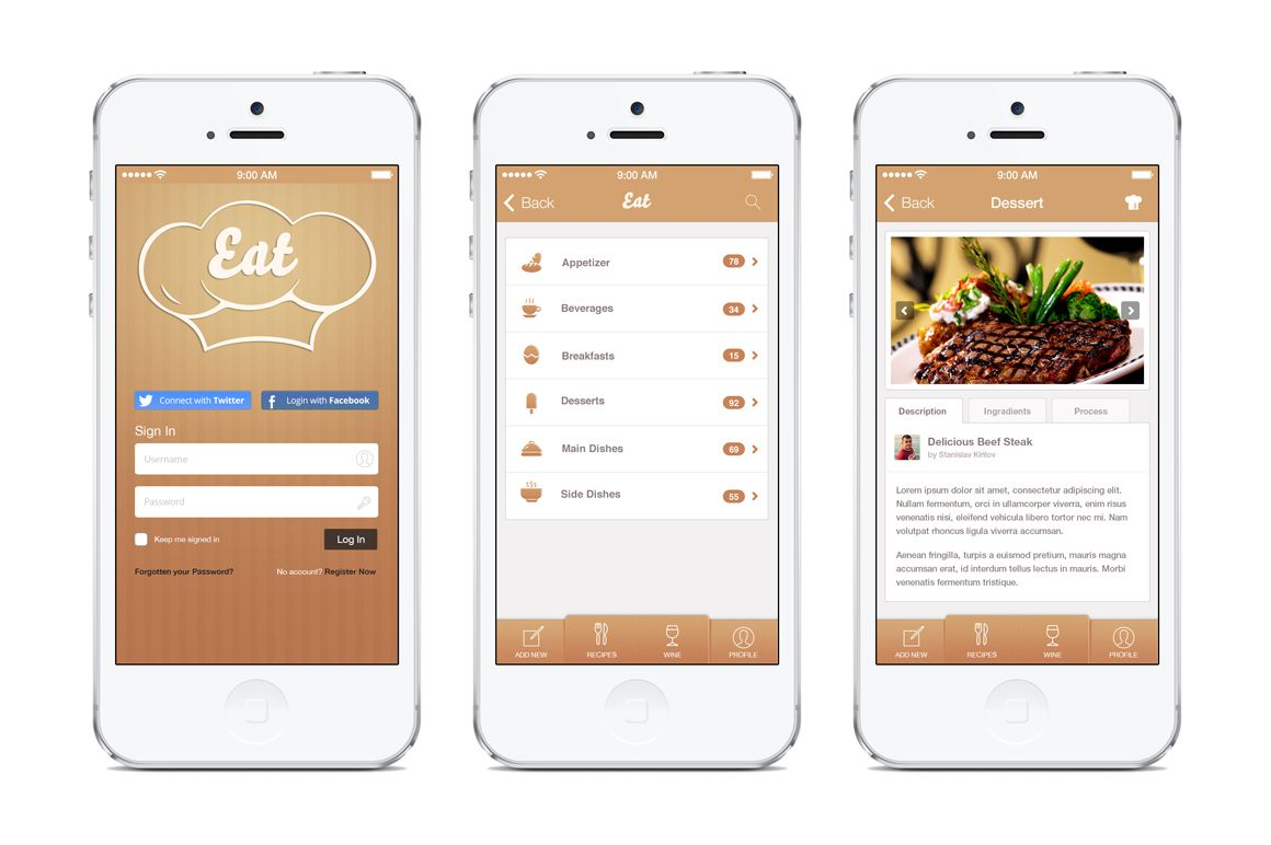 app template - Google 搜尋 | UI (Mobile) | Pinterest