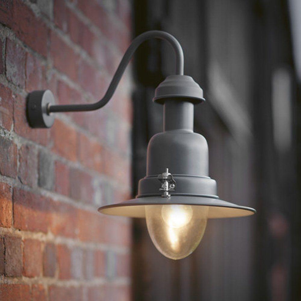 fishing lamp outdoor slate grey charcoal outdoor porch lights outdoor garden lighting. Black Bedroom Furniture Sets. Home Design Ideas