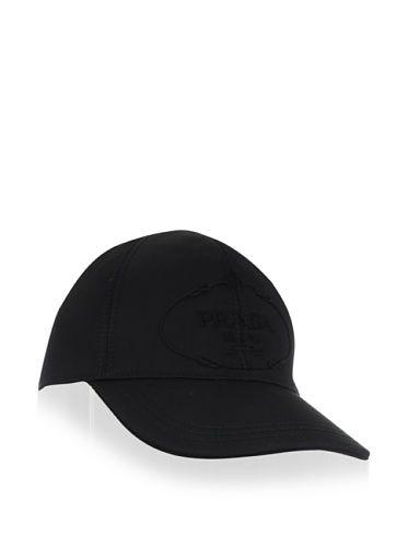 25% OFF PRADA Men\'s Logo Baseball Cap (Nero)