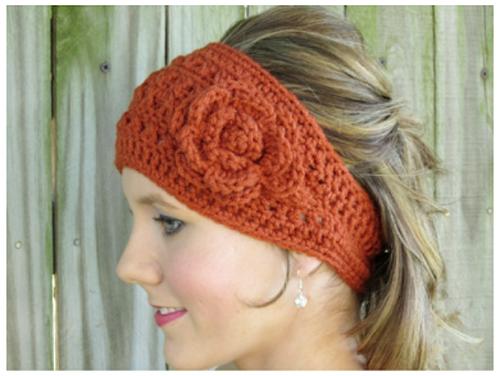 Autumn Headwrap - #freepattern #crochet #fall   Crochet   Pinterest ...