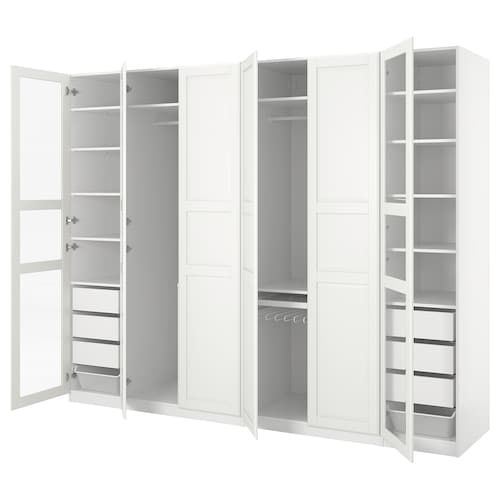 Ikea Guardaroba Angolare Pax.Pax Guardaroba Angolare Bianco 310 310x236 Cm Pax Corner