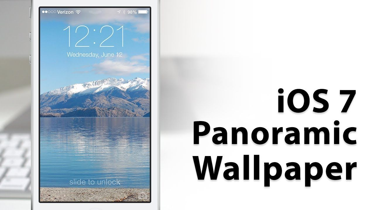 Hands-On iOS 7 Panoramic Wallpapers - New Hidden Feature