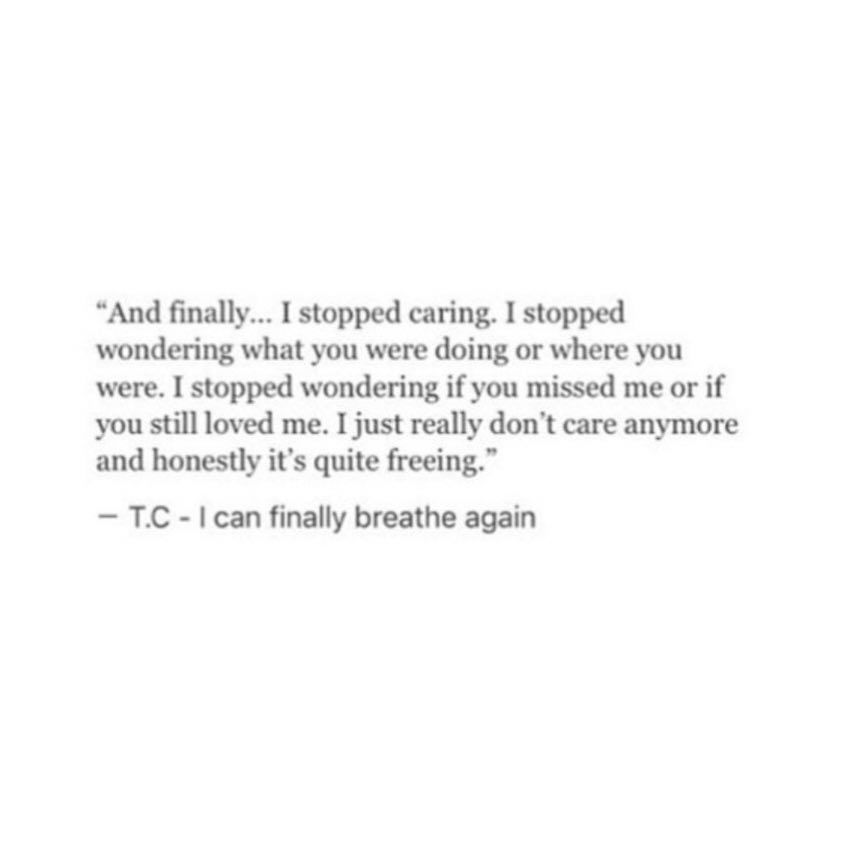 I Stopped Caring Stop Caring Quotes Care Quotes Stop Caring