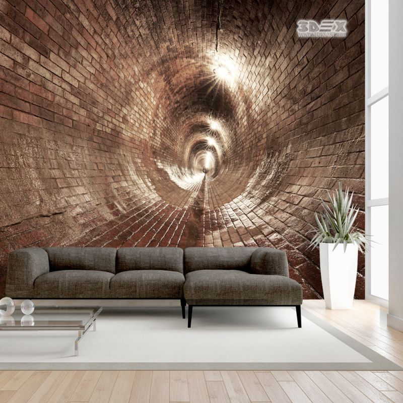40 Stylish 3D wallpaper for living room walls  3D wall murals   3d     3D stone wallpaper patterns for home walls  30 Stylish 3D wallpaper murals  for living room walls Move into the atmosphere of the spring garden