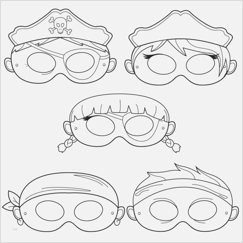 Masken Basteln Fur Kinder 22 Ideen Und Vorlagen 14