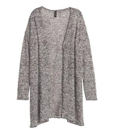 H&M harmaa neuletakki, koko XS, 9,99€