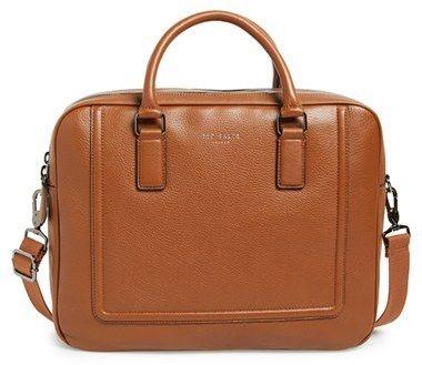 Ted Baker London 'Ragna' Leather Bowler Bag