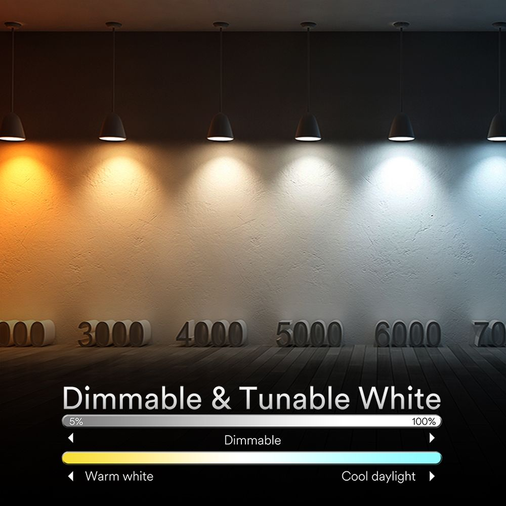 iLintek Smart Recessed Lighting 5/6 inch & smart bulb, adopts