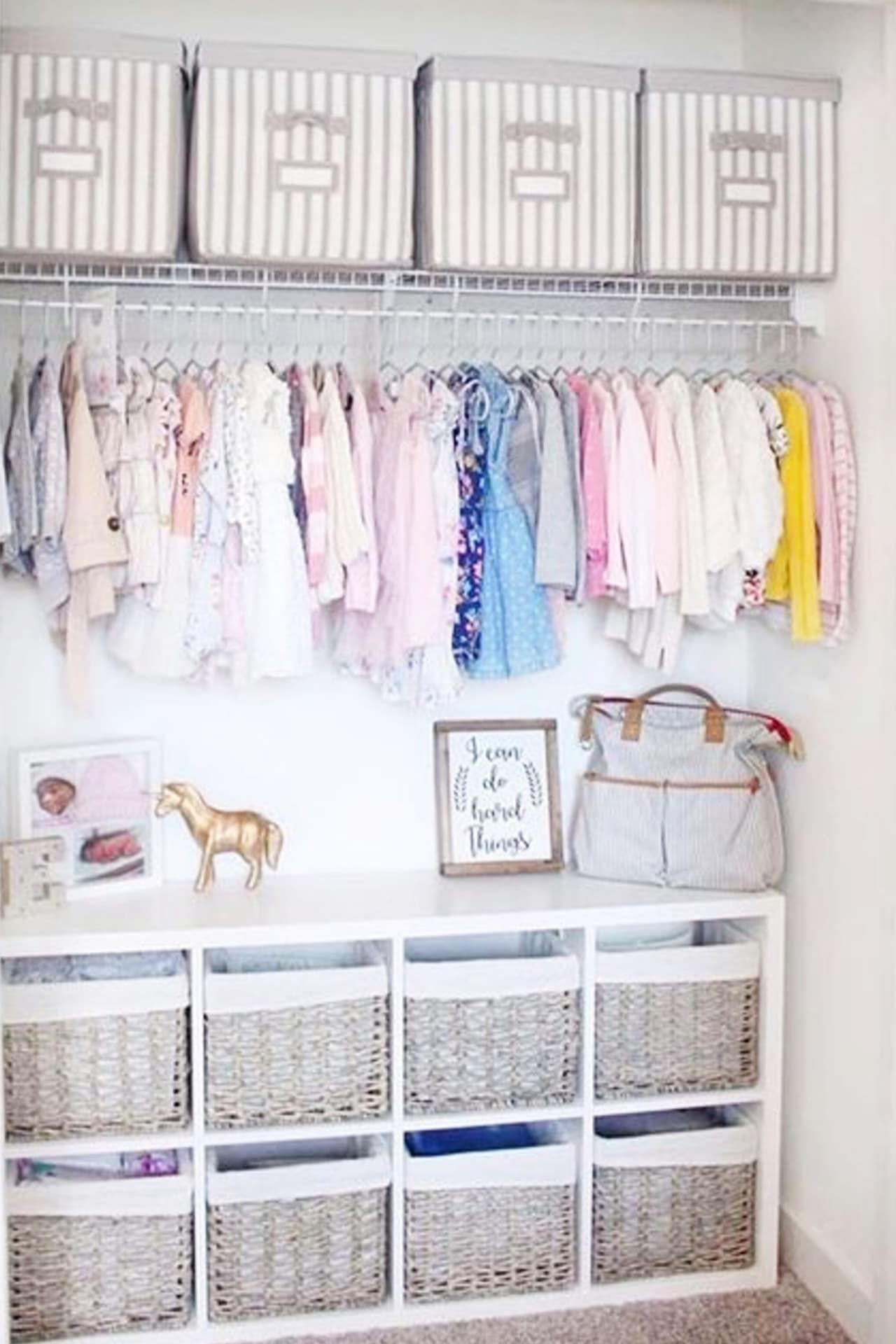 Baby Closet Ideas 47 Nursery Closet Organization Storage And Baby Closet Organizer Ideas Baby Room Organization Diy Nursery Closet Baby Nursery Closet