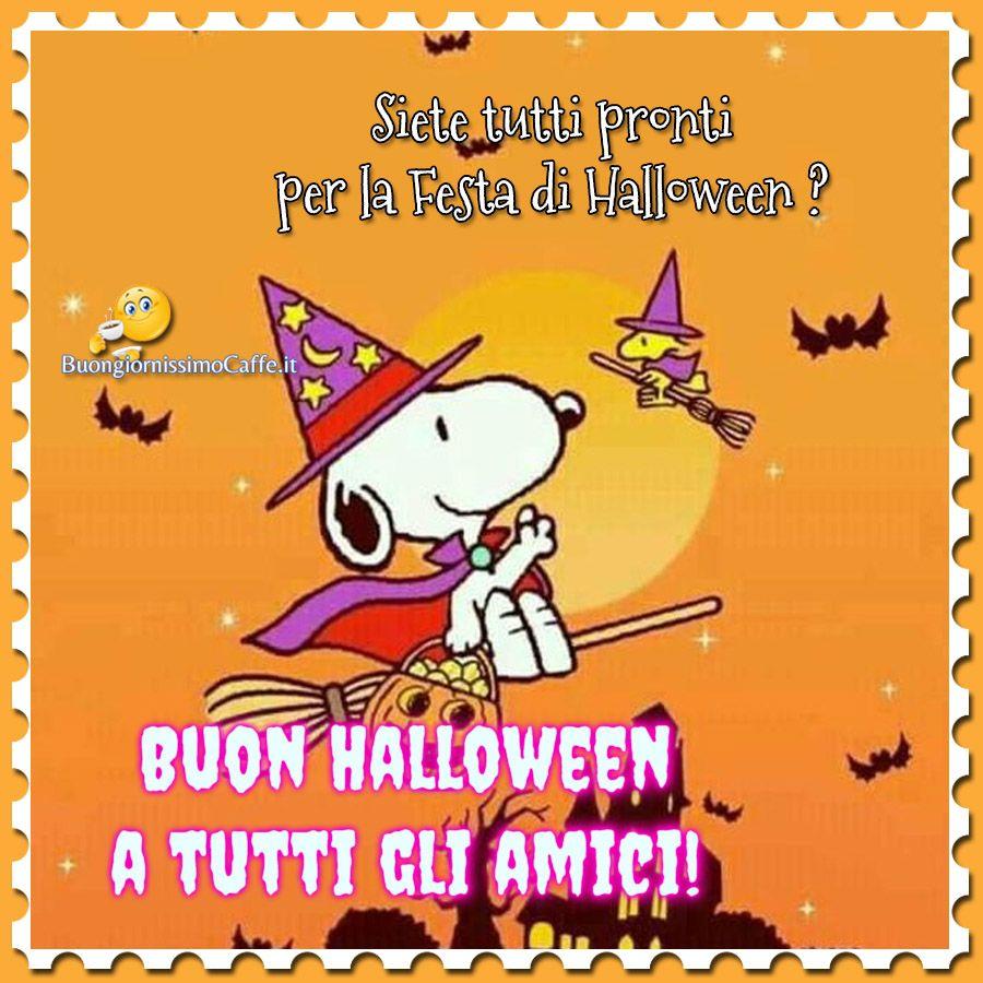 Buona Festa Di Halloween Immagini Nuove Buon Halloween Amici