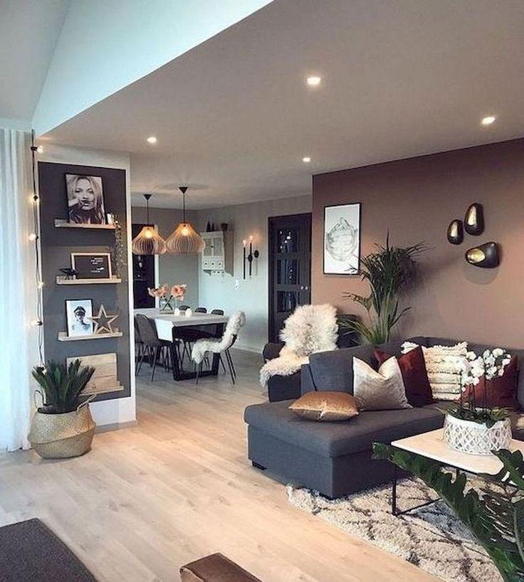 77 komfortable Wohnzimmer Wohnung Dekorationsideen #wohnzimmerdeko