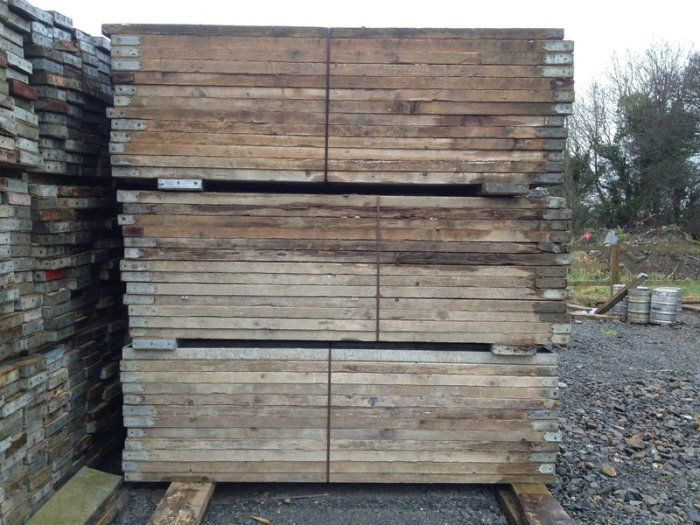 Used Scaffold Planks 6 euro delivered Used scaffolding