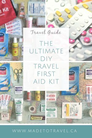DIY Travel First Aid Kit : Step by Sep Guide │ Made to Travel