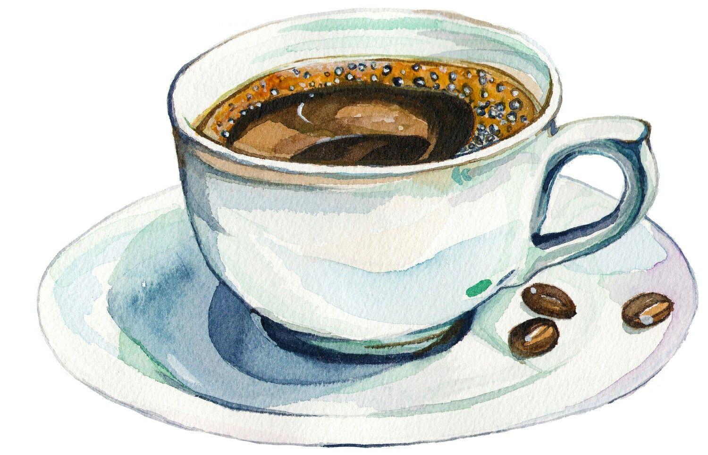 Картинки кружек с чаем нарисованных