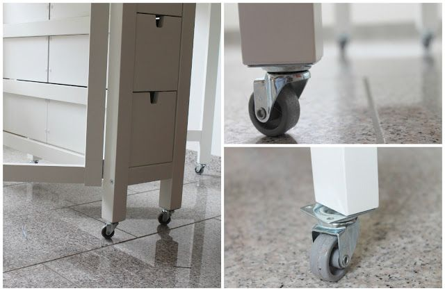 Make It Cozee Norden Gateleg With Wheels Sewing Table Sewing Table Norden Gateleg Table Ikea Hack
