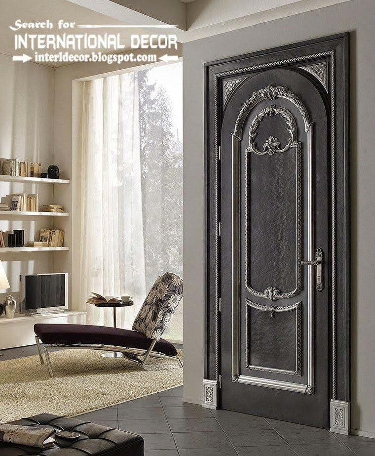 Luxury Interior Doors 2015 For Classic Interior Italian Black Door
