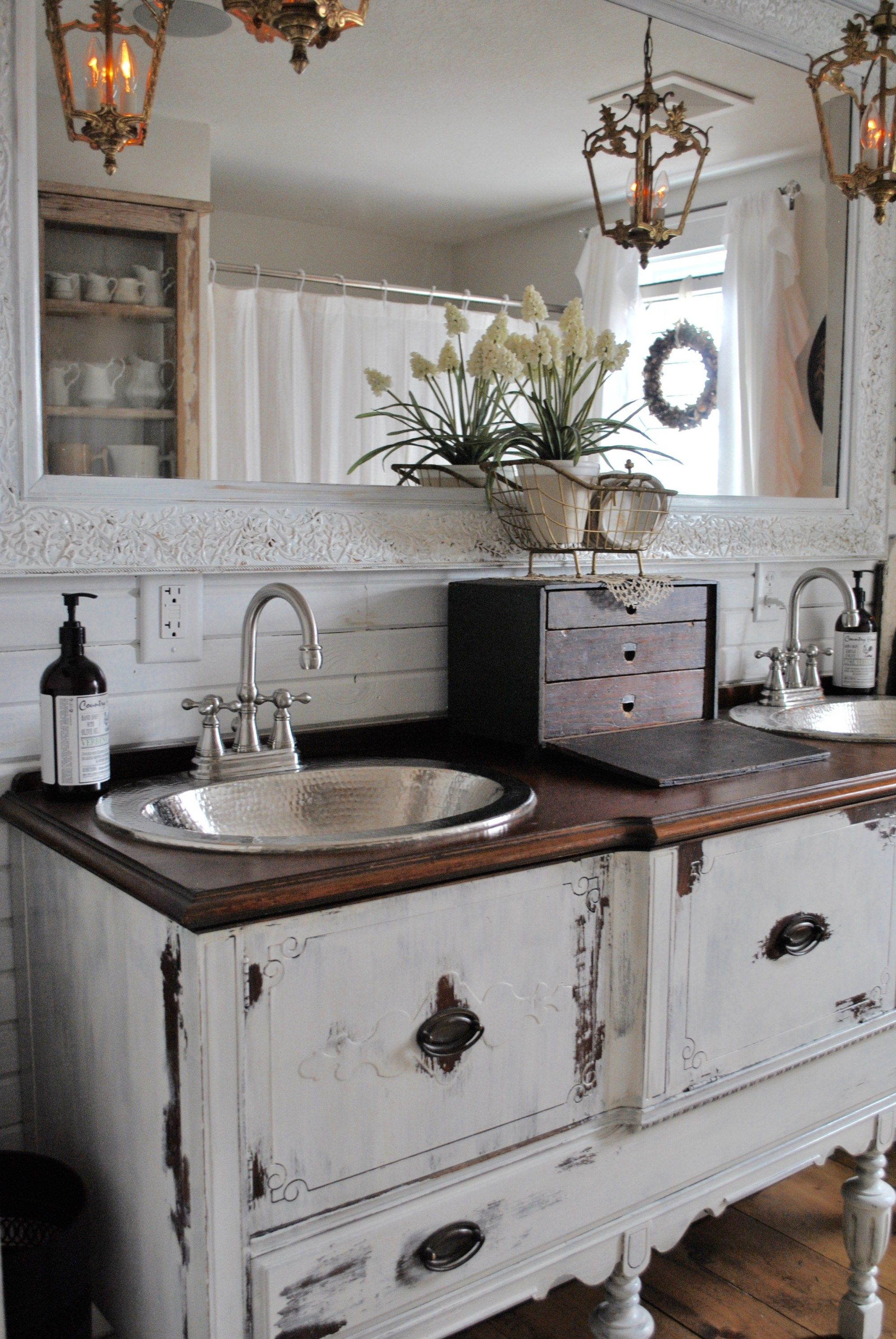 Bathroom reveal lighting ideas for the house pinterest antique