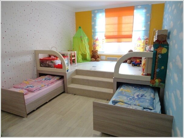 6 Space Saving Furniture Ideas For Small Kids Room In 2020 Space Saving Bedroom Small Kids Room Space Saving Furniture